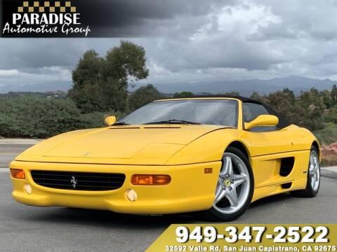 1997 Ferrari F355 For Sale In San Juan Capistrano Ca