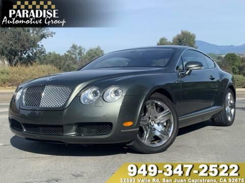 2005 Bentley Continental for sale in San Juan Capistrano, CA