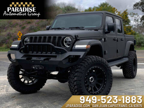 2020 Jeep Gladiator Overland for sale at Paradise Automotive Group Inc in San Juan Capistrano CA
