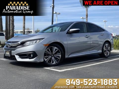 2016 Honda Civic EX-T for sale at Paradise Automotive Group Inc in San Juan Capistrano CA