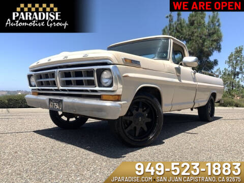 Used Ford F 100 For Sale In California Carsforsale Com