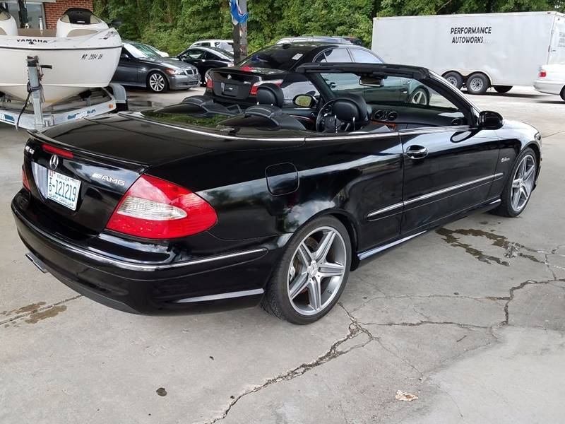 2008 Mercedes Benz Clk Clk 63 Amg 2dr Convertible In Havelock Nc