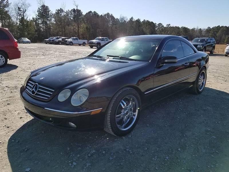 2002 Mercedes-Benz CL-Class for sale at Performance Autoworks LLC in Havelock NC