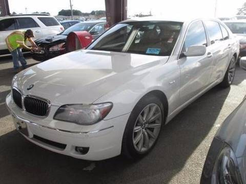 2008 BMW 7 Series for sale at Performance Autoworks LLC in Havelock NC