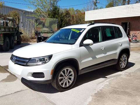 2015 Volkswagen Tiguan for sale at Performance Autoworks LLC in Havelock NC