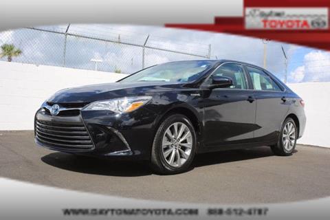 2016 Toyota Camry Hybrid for sale in Daytona Beach, FL