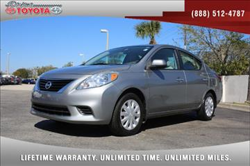2012 Nissan Versa for sale in Daytona Beach, FL