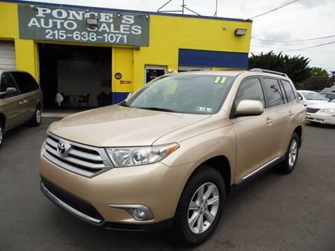 2011 Toyota Highlander for sale in Bensalem, PA