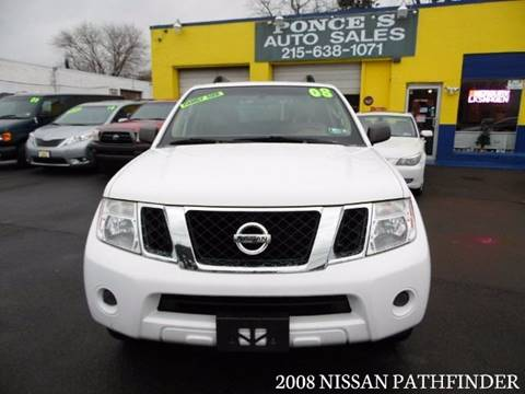 2008 Nissan Pathfinder for sale in Bensalem, PA