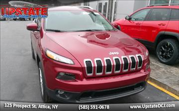 2017 Jeep Cherokee for sale in Attica, NY