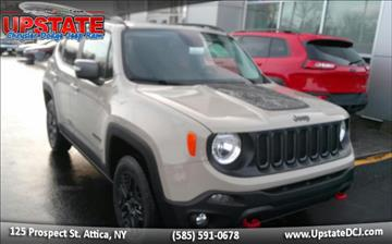 2017 Jeep Renegade for sale in Attica, NY