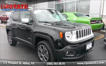 2015 Jeep Renegade for sale in Attica, NY