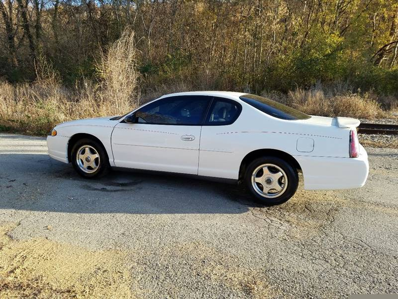 2004 Chevrolet Monte Carlo for sale at Wholesale Auto Outlet in Harriman TN