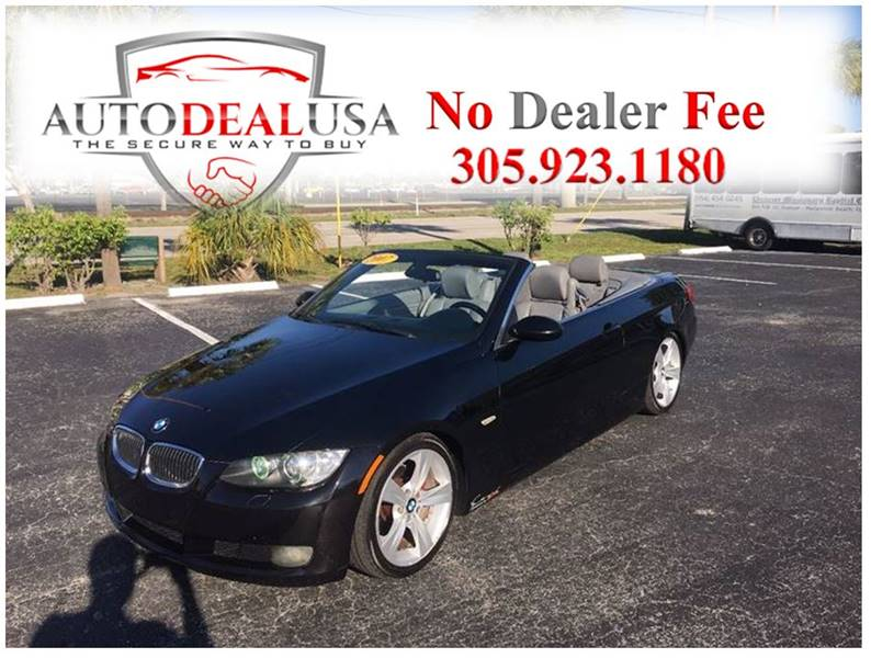 Bmw Series I Dr Convertible In Hallandale FL Auto - Bmw 328i convertible 2007