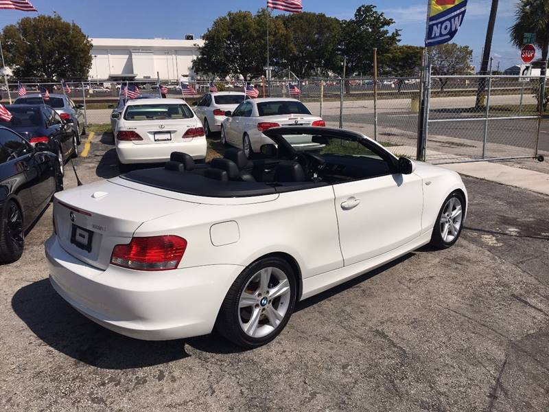 Bmw Series I Dr Convertible In Hallandale FL Auto - Bmw 1 series usa