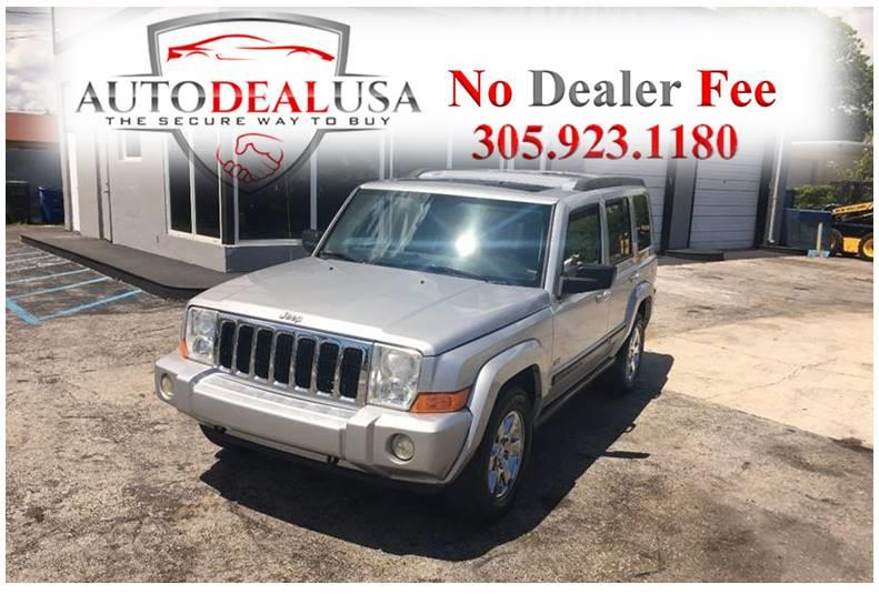 2007 Jeep Commander For Sale At Auto Deal USA In Hallandale FL