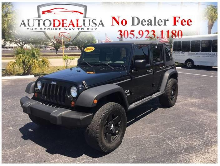 2009 Jeep Wrangler Unlimited For Sale At Auto Deal USA In Hallandale FL