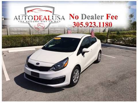2016 Kia Rio for sale in Hallandale, FL