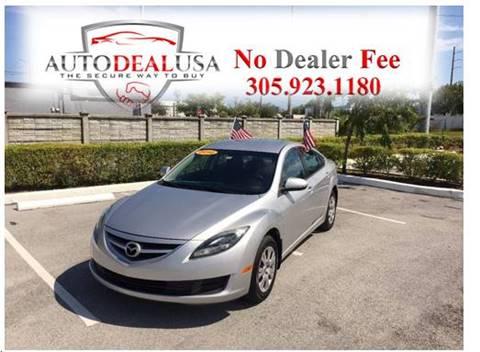 2012 Mazda MAZDA6 for sale in Hallandale, FL