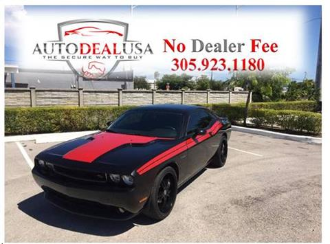 2011 Dodge Challenger for sale in Hallandale, FL