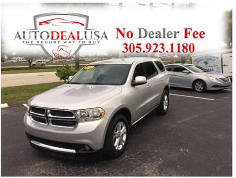 2012 Dodge Durango for sale in Hallandale, FL