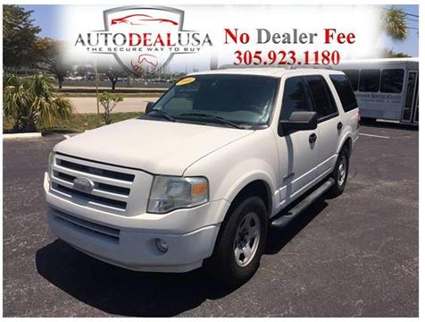 2008 Ford Expedition for sale in Hallandale, FL