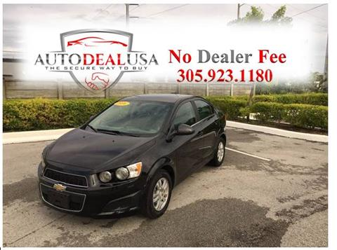 2016 Chevrolet Sonic for sale in Hallandale, FL