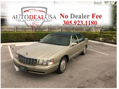 1997 Cadillac DeVille for sale in Hallandale, FL