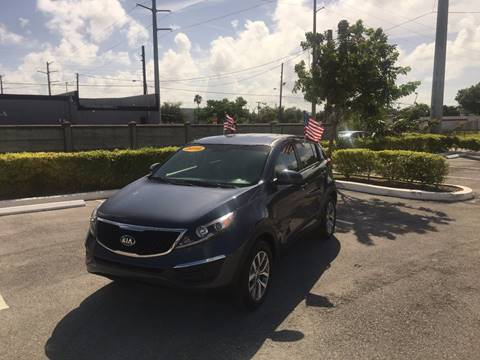 2016 Kia Sportage for sale in Hallandale, FL