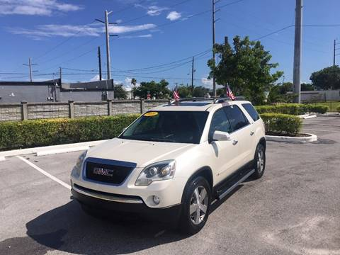 2009 GMC Acadia for sale in Hallandale, FL