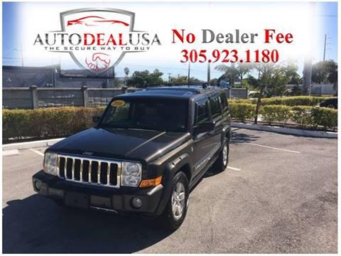 2006 Jeep Commander for sale in Hallandale, FL