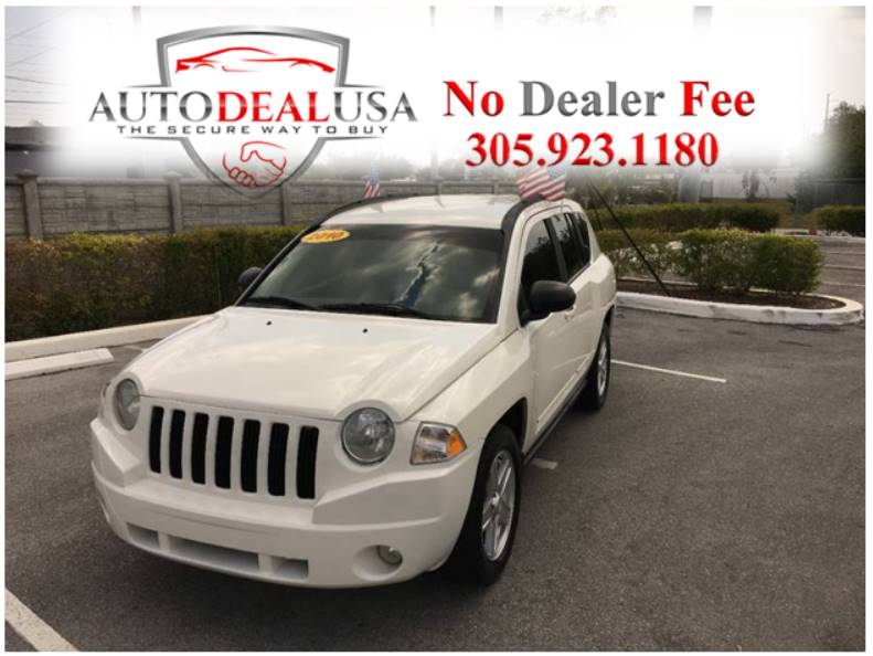 2010 Jeep Compass For Sale At Auto Deal USA In Hallandale FL