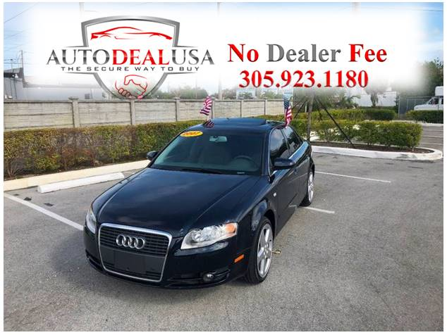 2007 Audi A4 20t In Hallandale Fl Auto Deal Usa