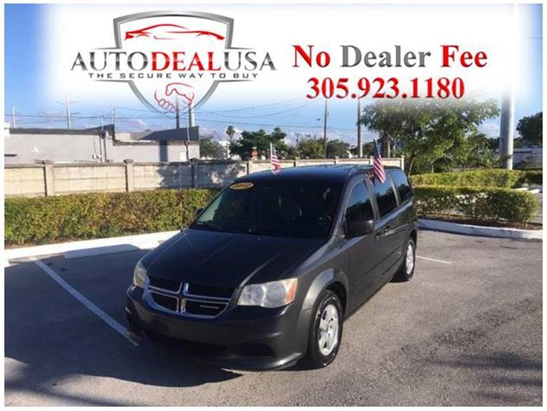 2012 Dodge Grand Caravan Sxt In Hallandale Fl Auto Deal Usa