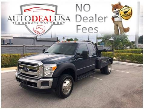 2014 Ford F-450 for sale in Hallandale, FL