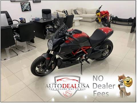 2011 Ducati DIAVEL for sale in Hallandale, FL
