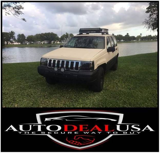 1997 Jeep Grand Cherokee For Sale At Auto Deal USA In Hallandale FL