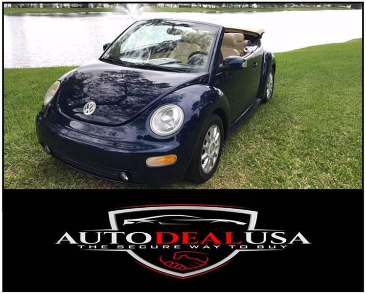 2005 Volkswagen New Beetle Dark Flint Edition In Hallandale Fl