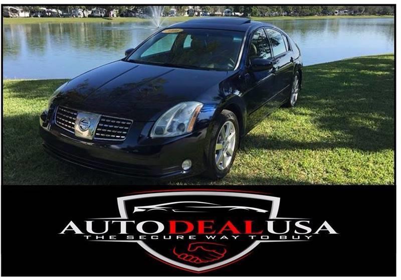 2006 Nissan Maxima For Sale At Auto Deal USA In Hallandale FL