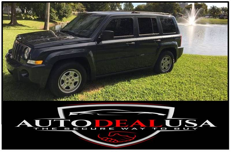 2008 Jeep Patriot For Sale At Auto Deal USA In Hallandale FL