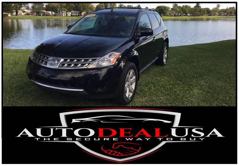 2006 Nissan Murano For Sale At Auto Deal USA In Hallandale FL