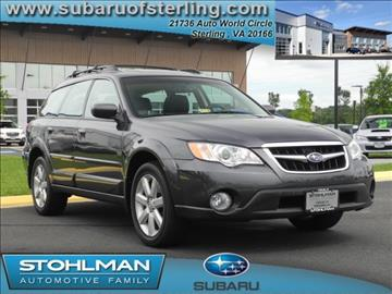 2008 Subaru Outback for sale in Sterling, VA