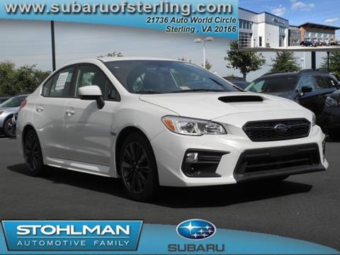 2018 Subaru WRX for sale in Sterling, VA