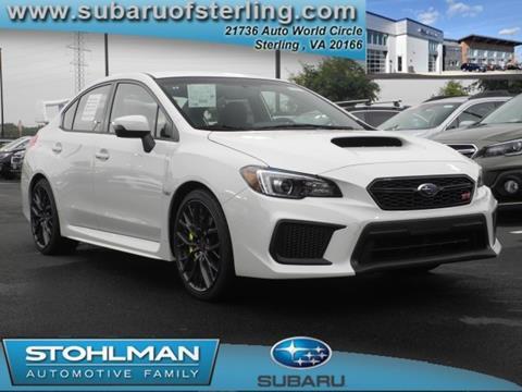 2018 Subaru WRX for sale in Sterling, VA