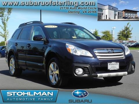 2013 Subaru Outback for sale in Sterling, VA