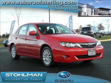2009 Subaru Impreza for sale in Sterling, VA