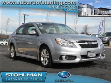 2013 Subaru Legacy for sale in Sterling, VA