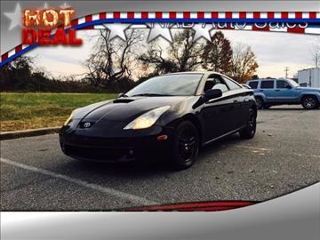 2001 Toyota Celica for sale in Fredricksburg, VA