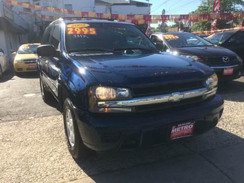 2002 Chevrolet TrailBlazer for sale in Linden, NJ