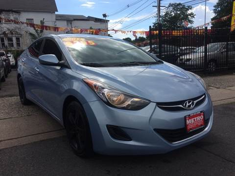 2011 Hyundai Elantra for sale at Metro Auto Exchange 2 in Linden NJ